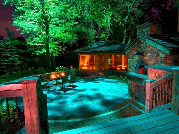 Anleuchten beautiful 15 ideas for landscape lighting patio garden