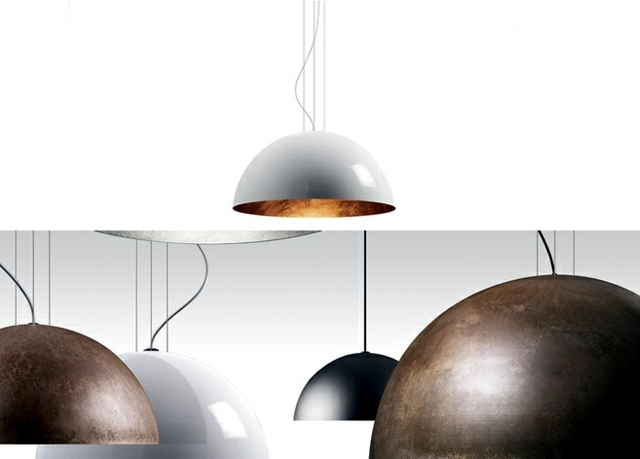 metal lamps are fashionable