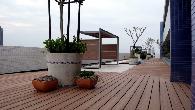 WPC Decking - A popular soil for terraces and balconies