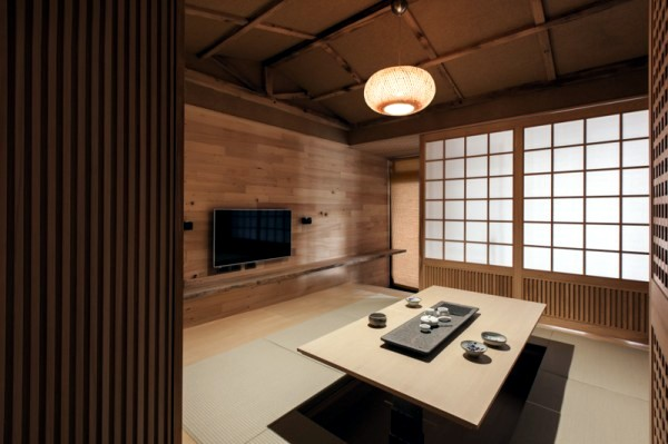 Modern minimalist interior design japanese style for Interior design styles traditional contemporary