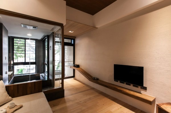 Modern minimalist interior design japanese style for Modern japanese house interior design