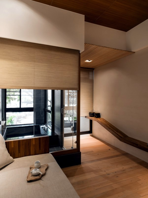 Modern minimalist interior design japanese style for Full home interior design
