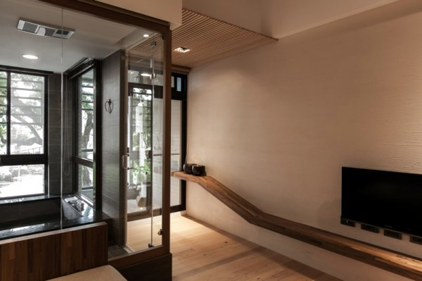 Modern minimalist interior design japanese style for Modern zen interior design living room