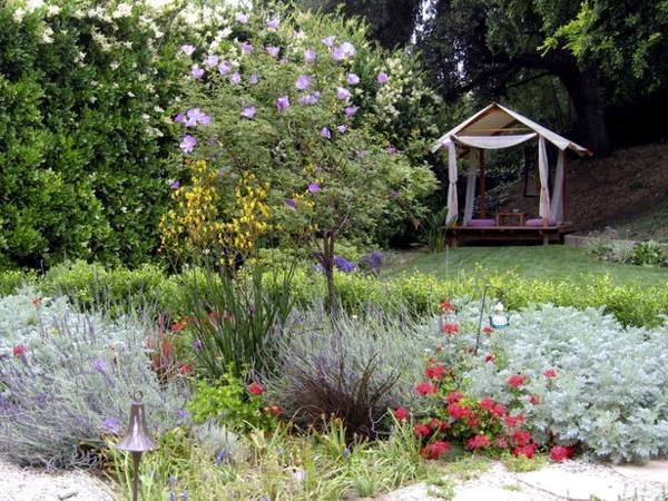Creating a garden principles and design ideas rustic for Garden interior design style