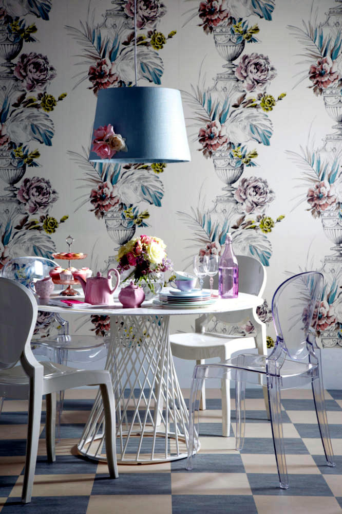 Wallpaper For Dining Room Ideas Part - 49: Dining Room