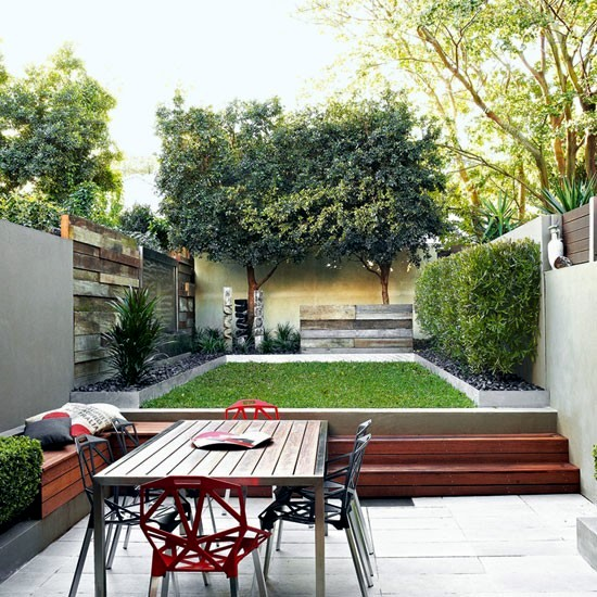The design of a garden itself - the basic elements and ideas