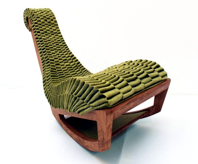 ivy lounge rocking chair designed according to the principles of biomimicry 0 199