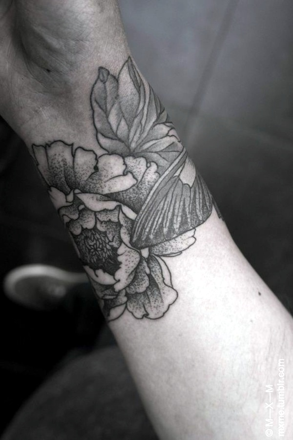 Flowers Tattoo On Wrist Pictures Pics Photos And