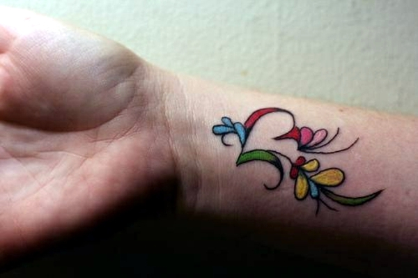 Trends - 100 ideas for wrist tattoo - You are unique in the trend