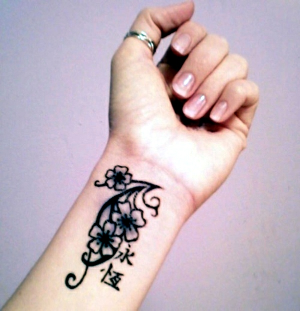 100 ideas for wrist tattoo - You are unique in the trend