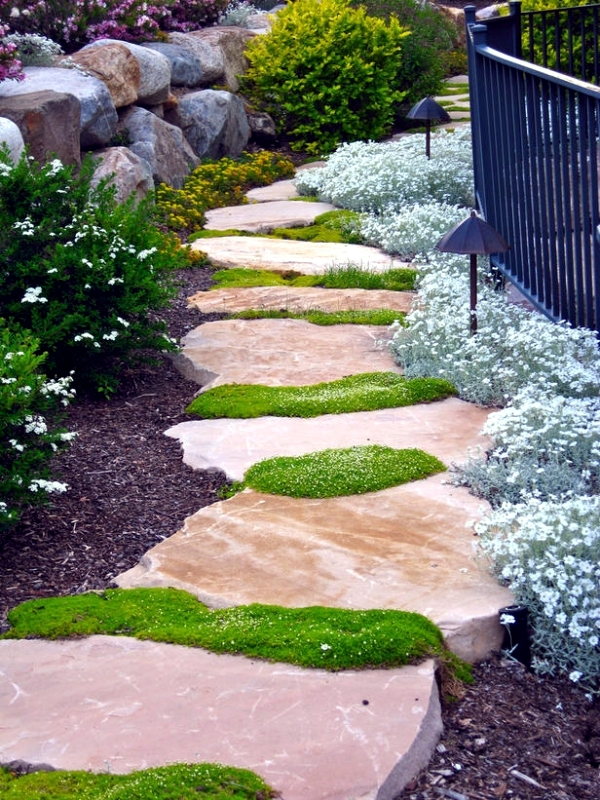 The Design Of The Garden Path Was Generally Associated Only With A  Functional Purpose   To Facilitate The Path From One Point To Another.