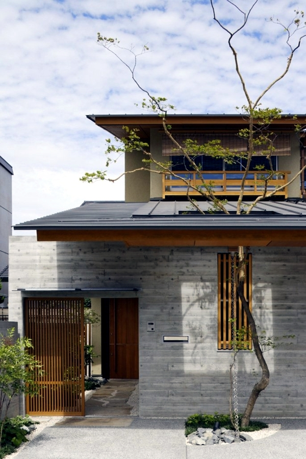 Architecture of the japanese house by tsc architects for Asian architecture house design