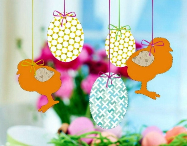 Easter Decoration Crafts With Bunnies And Eggs Ideas