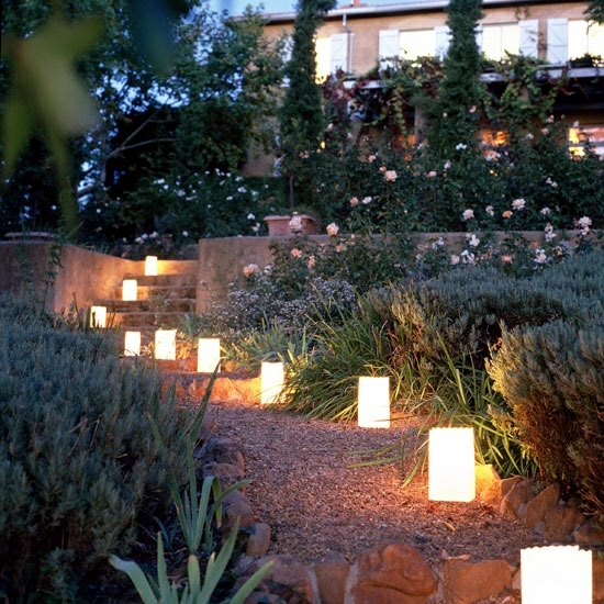 Garden Lights Ideas cheap and effective Interior Design Ideas : cheap garden lighting ideas - azcodes.com