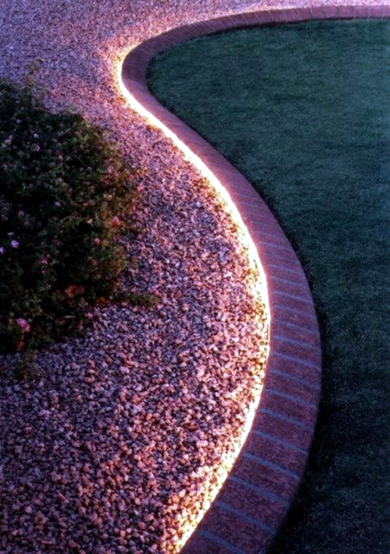 Garden Lights - Ideas cheap and effective