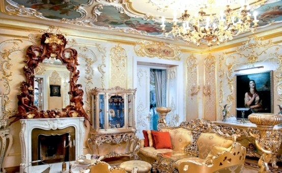 Luxury Apartment In The Rococo Style In St Petersburg Live Like