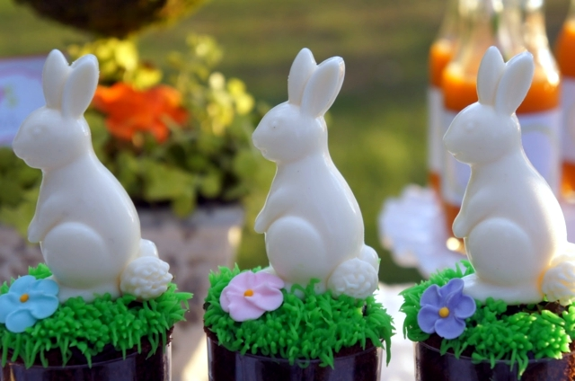 Organizing kids party in the garden - 20 fun ideas Easter decoration