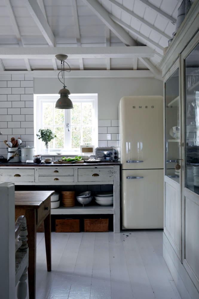 Home Interior Designs For Kitchens: Country Kitchen In The Half-timbered House