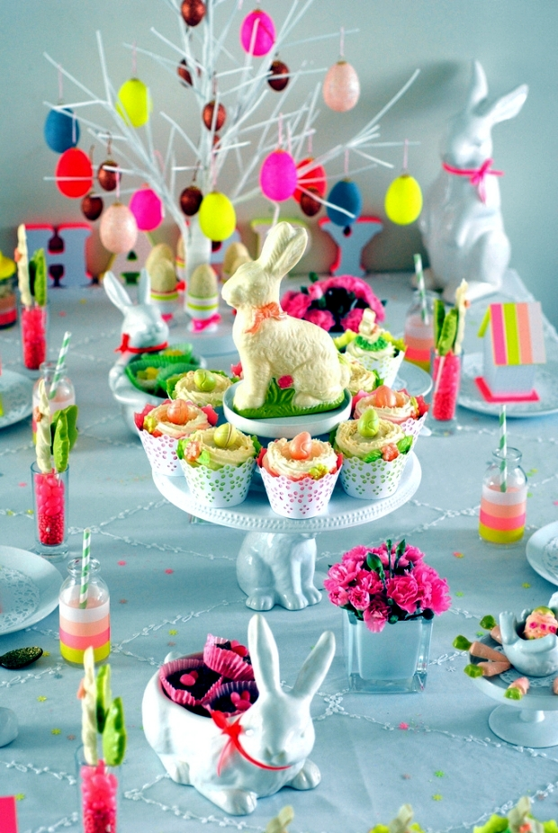 Beautiful Easter Decoration On Table 21 Creative Ideas