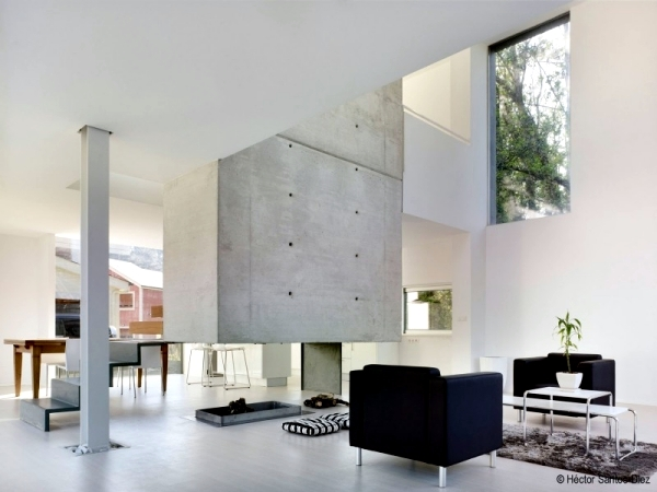Modern house in Spain - Spacious rooms and high ceilings