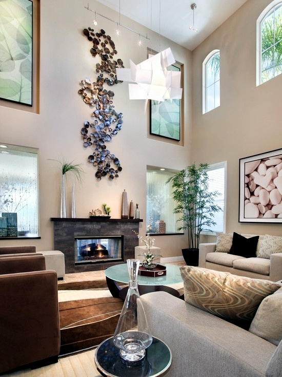 17 ideas for using river stones as interior decoration