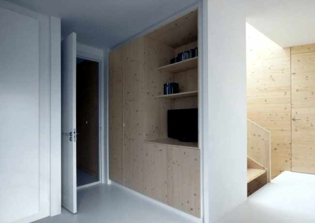 A stunning modern apartment with kitchen fronts laser cutting