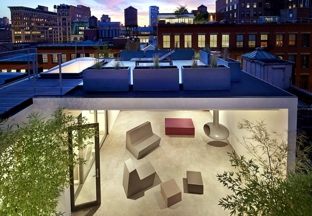 Chicke Penthouse With Rooftop Terrace Architecture Sa Da Soho Interior Design Ideas Ofdesign
