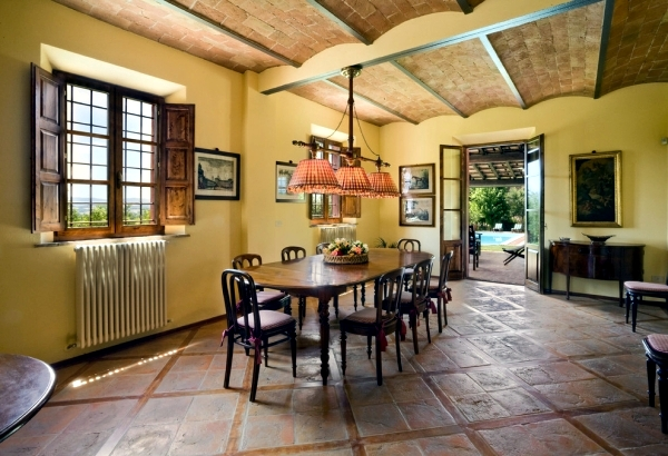 Modern decor with the concept of rustic life in the Tuscan style ...
