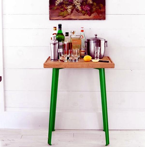 12 original ideas for DIY set up your own little house bar