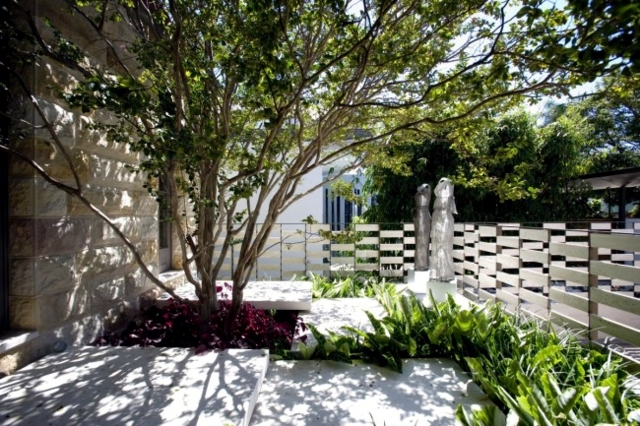 Design idyllic courtyard garden at the new sydney for Courtyard landscaping sydney