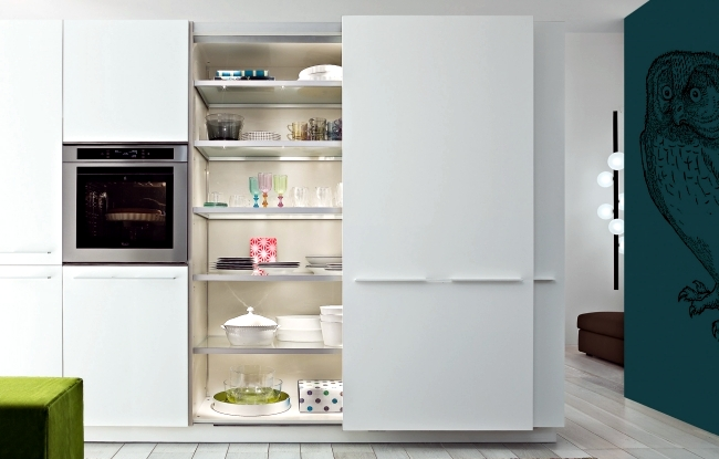 """Kitchen Design """"Twelve"""" - very functional and with the best optics"""