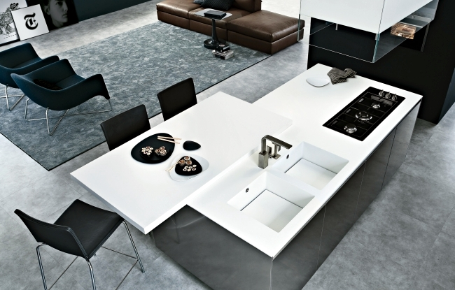 "Kitchen Design ""Twelve"" - ​​very functional and with the best optics"