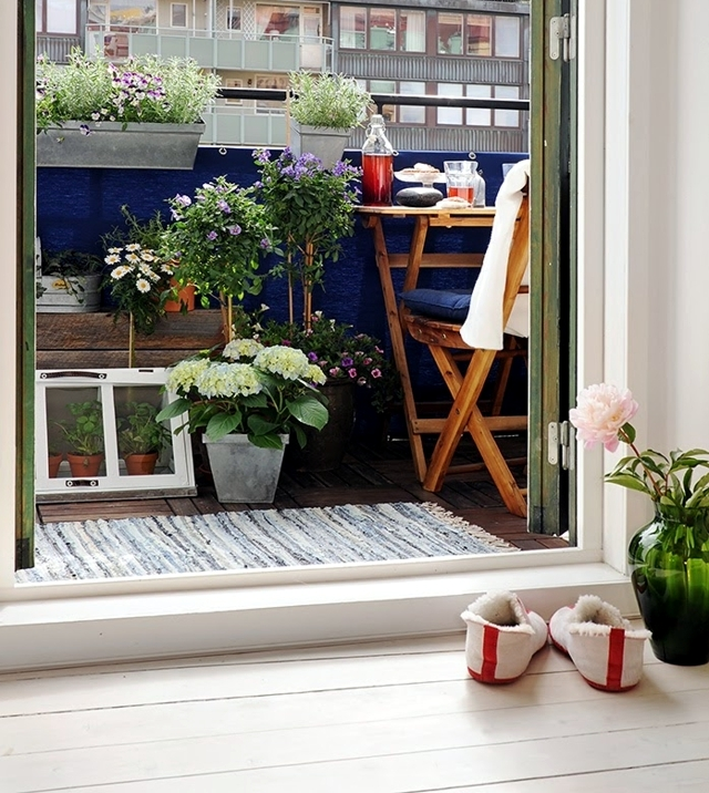 Privacy with balcony Voltage - 21 new ideas for balcony border