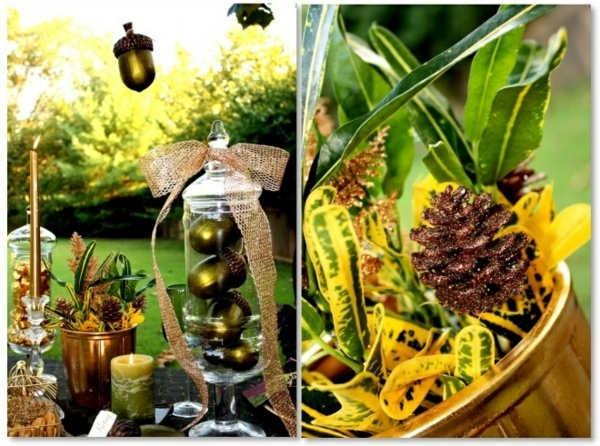 Crafts with natural materials - 30 Decorating Ideas with tassels