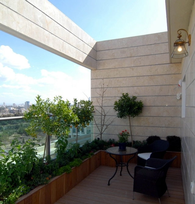 Balcony furniture - 52 facilities and decorating ideas for all lifestyles