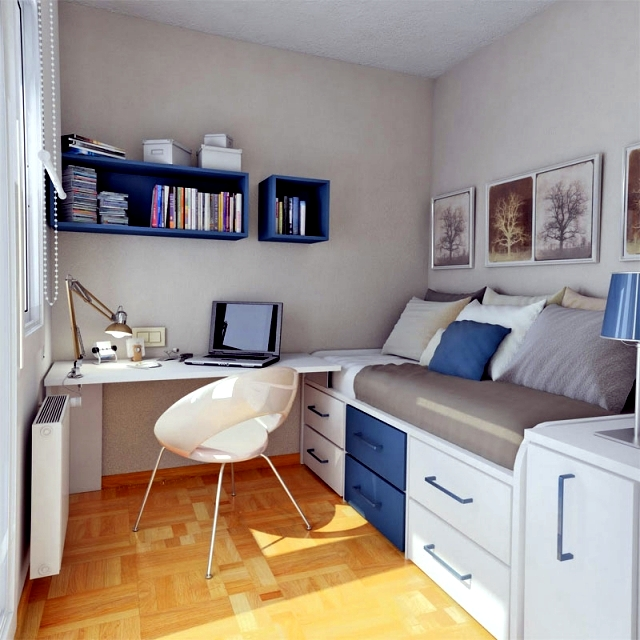 25 ideas for the Division of Youth and tips for small spaces