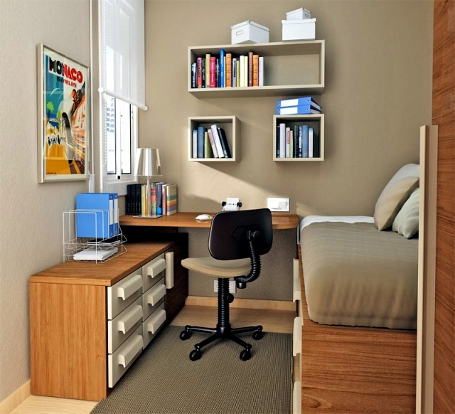 Small Study Room Ideas: 25 Ideas For The Division Of Youth And Tips For Small