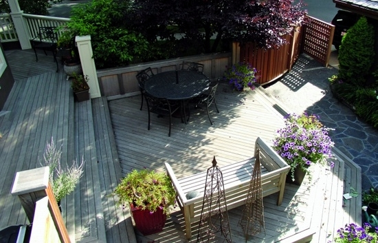 Wonderful Making Wooden Garden Decking Bangkirai. Terrace Design