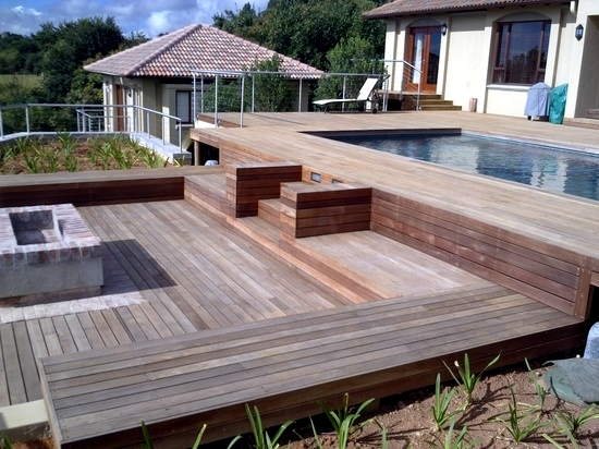 High Quality Bangkirai Wood Terrace   20 Great Ideas For Garden Design