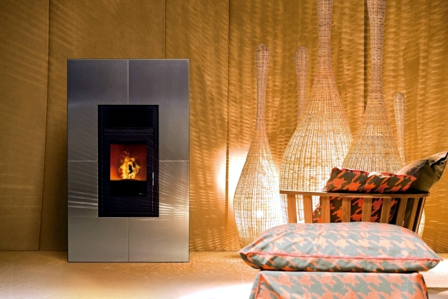 Mcz Pellet Stove High Efficiency Proprietary Technology