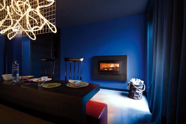 MCZ pellet stove - high efficiency, proprietary technology, modern design