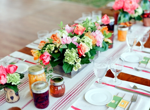 Spring decorations on the table 33 ideas for fun floral - Decoration table printemps ...