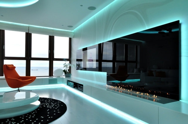 Indirect Ceiling Lighting Offers Comfort Interior Design
