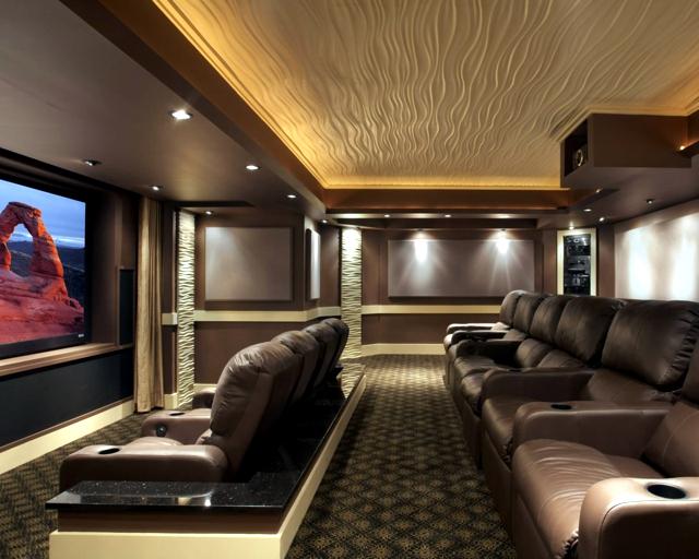 Indirect ceiling lighting offers comfort interior design - Lit confortable design ...