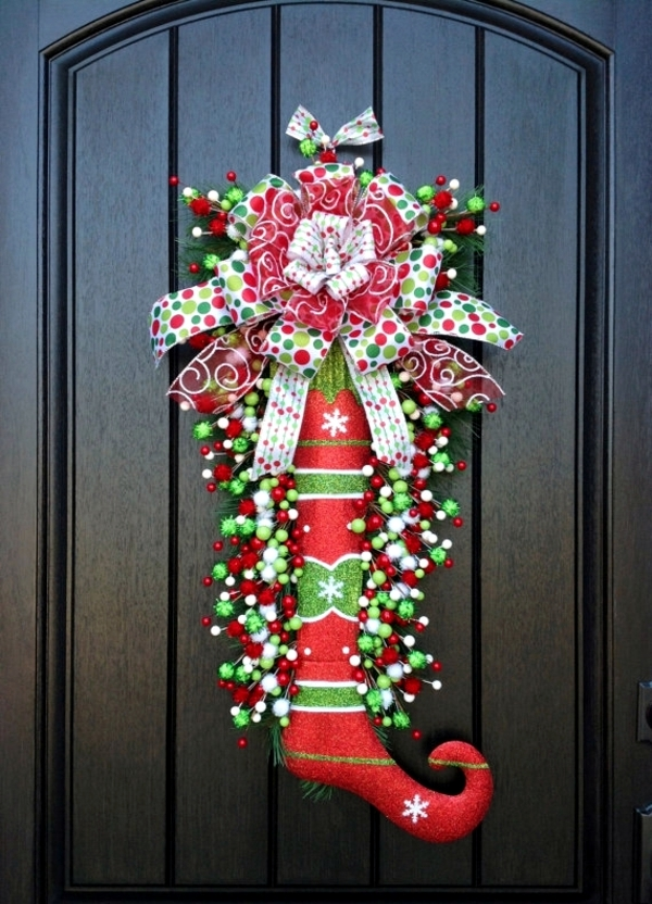 Craft Christmas Wreath 14 Ideas With Unusual Materials
