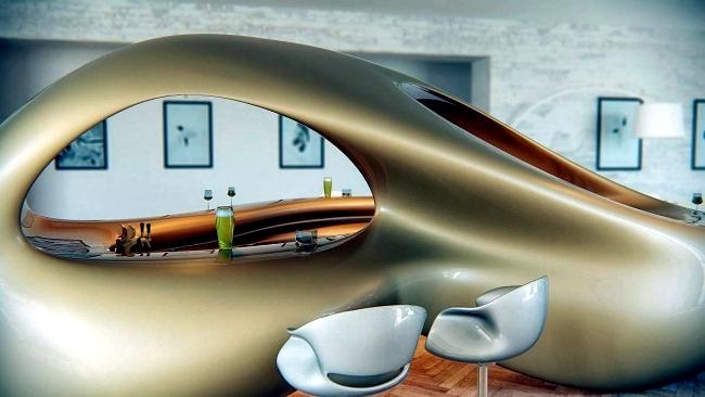 Study Nüvist Liubja character designer lounge bar skulpturellem