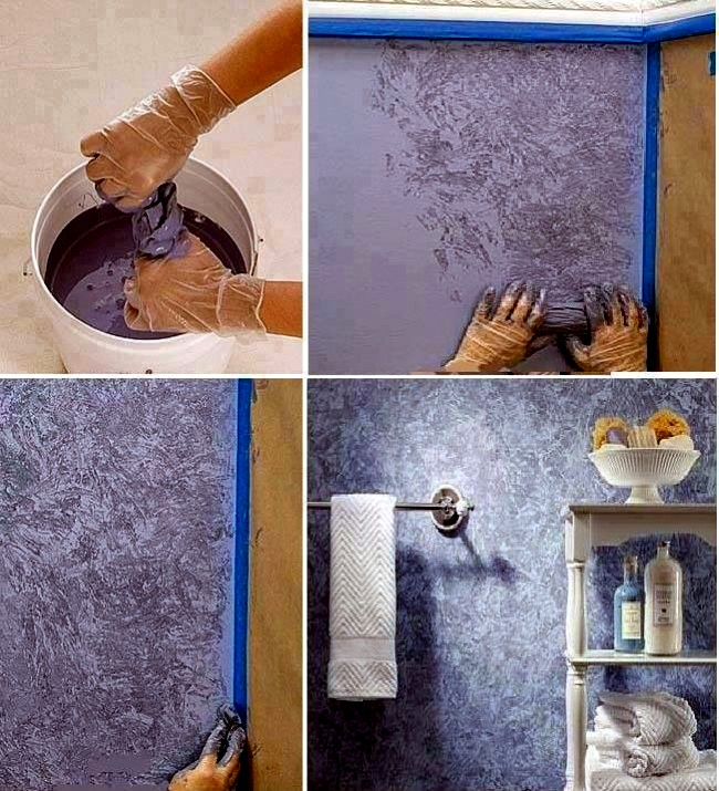 Decorative Painting Techniques For Creative Wall Design Interior Design Ideas Ofdesign