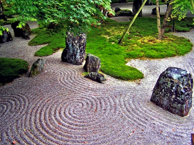 japanese garden design  important to know the construction of the, Natural flower