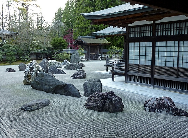 Japanese Garden Design   Important To Know The Construction Of The Dry  Garden