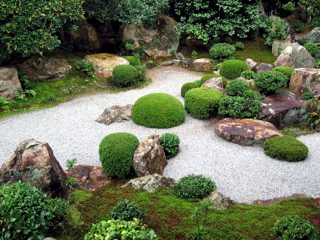 japanese garden design important to know the construction of the dry garden interior design. Black Bedroom Furniture Sets. Home Design Ideas